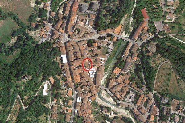 Immagine n0 - Planimetria - Vista aerea - Asta 4931