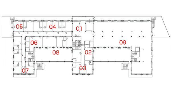 Immagine n8 - Planimetria - Piano terra - Asta 494