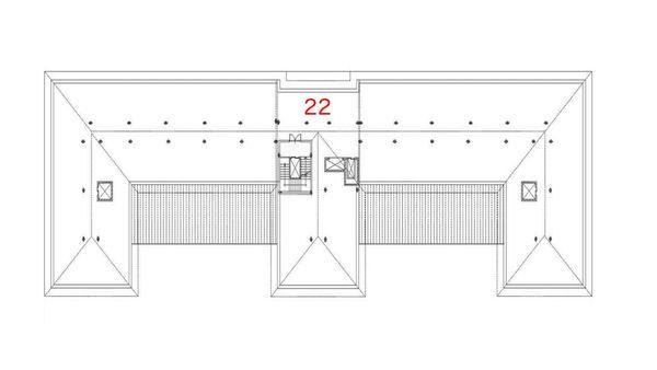 Immagine n0 - Planimetria - Piano sottotetto - Asta 494