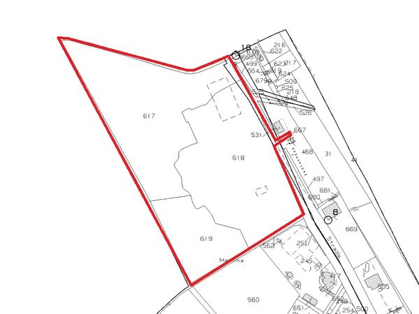 Immagine n0 - Planimetria - Estratto di mappa - Asta 4971