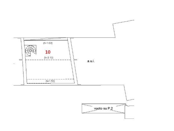 Asta 4982 appartamento in centro storico sub 39 real for Appartamento centro storico vicenza