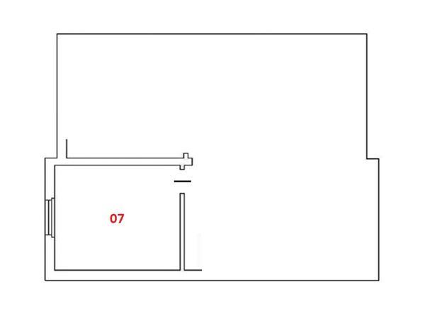 Immagine n2 - Planimetria - Piano seminterrato - Asta 4986