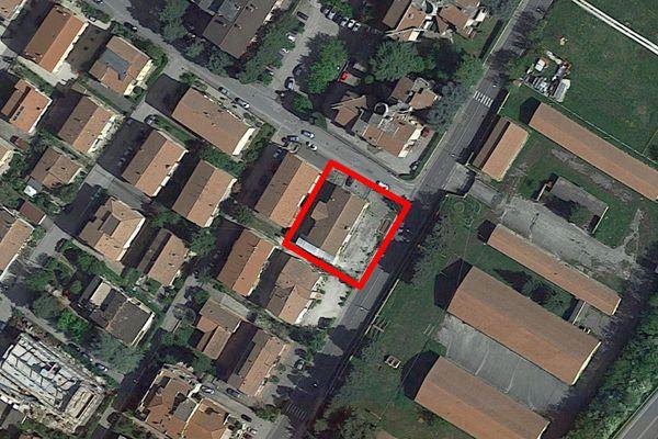 Immagine n1 - Planimetria - Vista aerea - Asta 4989