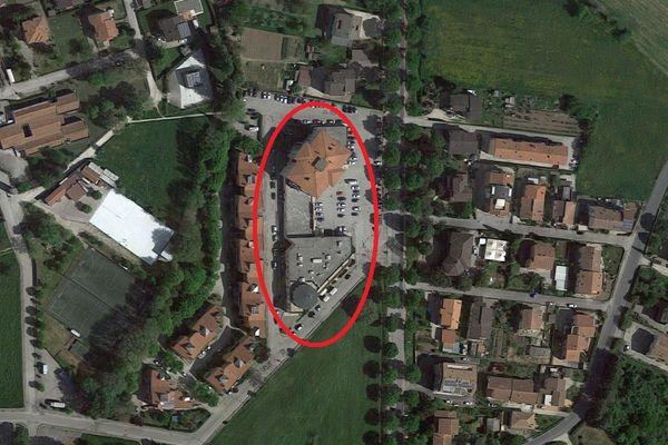 Immagine n4 - Planimetria - Vista aerea - Asta 4990