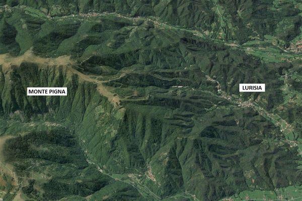 Immagine n0 - Planimetria - Vista aerea - Asta 5022