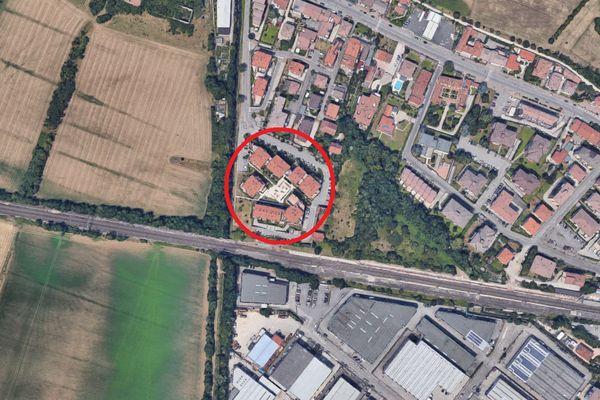 Immagine n1 - Planimetria - Vista aerea - Asta 5029