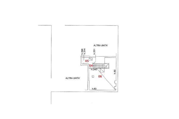 Immagine n2 - Planimetria - Piano quarto - Asta 5029