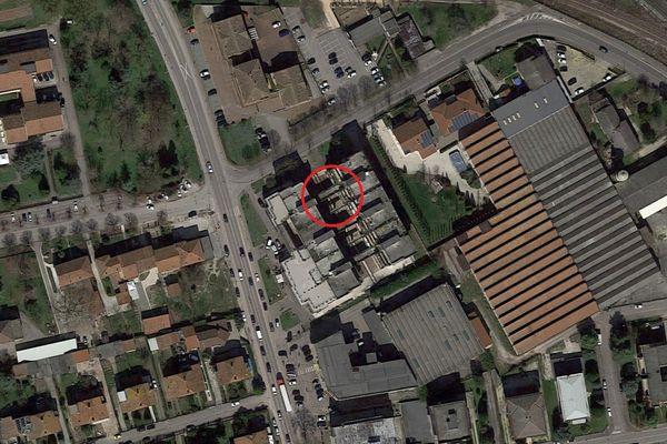 Immagine n0 - Planimetria - Vista aerea - Asta 5041