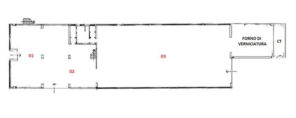 Immagine n1 - Planimetria - Piano terra - Asta 5048