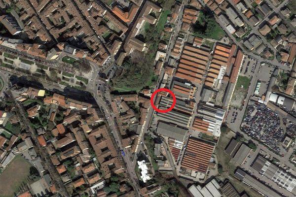 Immagine n0 - Planimetria - Vista aerea - Asta 5049