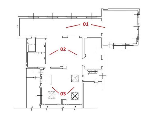 Immagine n2 - Planimetria - Piano terra - Asta 5049