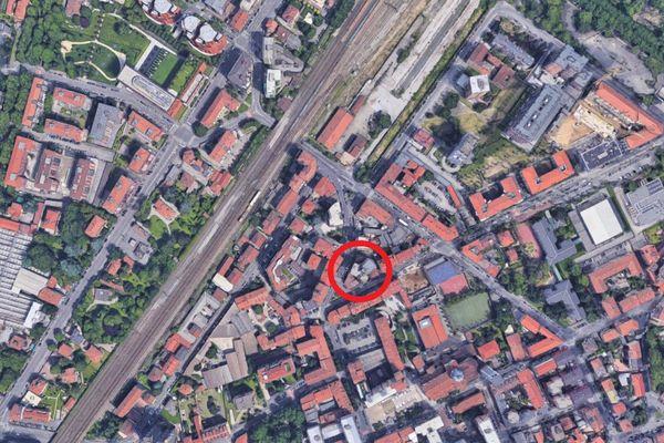 Immagine n0 - Planimetria - Vista aerea - Asta 5050