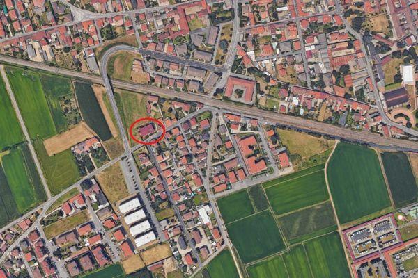 Immagine n1 - Planimetria - Vista aerea - Asta 5057