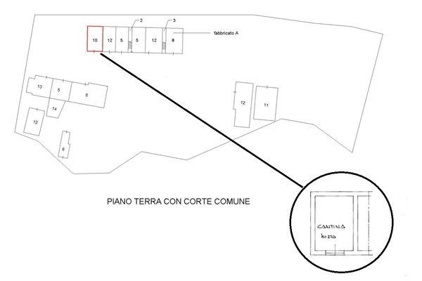 Immagine n0 - Planimetria - Piano terra - Asta 5088