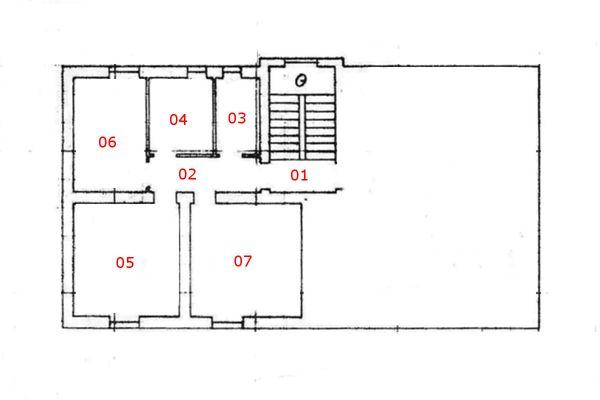 Immagine n0 - Planimetria - Piano primo - Asta 5097