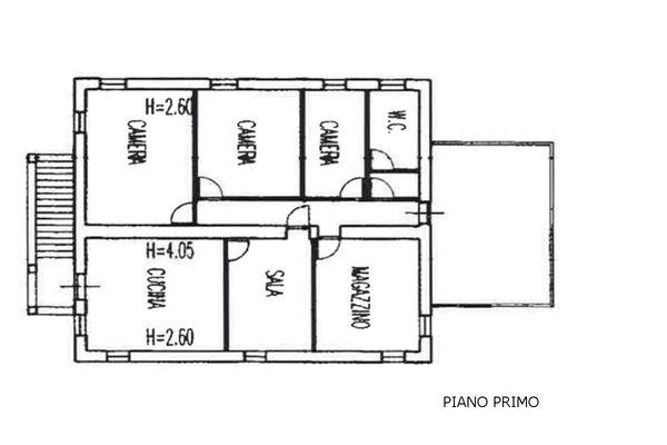 Immagine n2 - Planimetry - Piano primo - Asta 5102