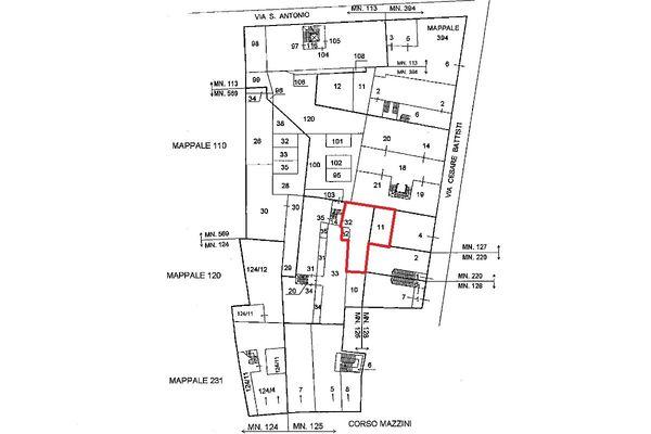 Immagine n0 - Planimetria - Localizzazione Piano terra - Asta 5111