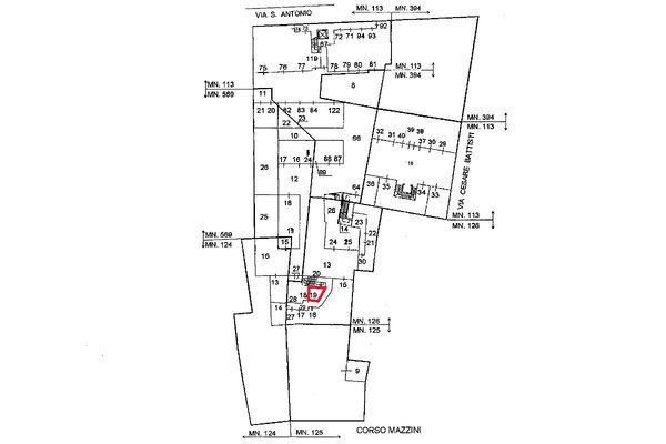 Immagine n0 - Planimetria - Localizzazione PS1 - Asta 5111