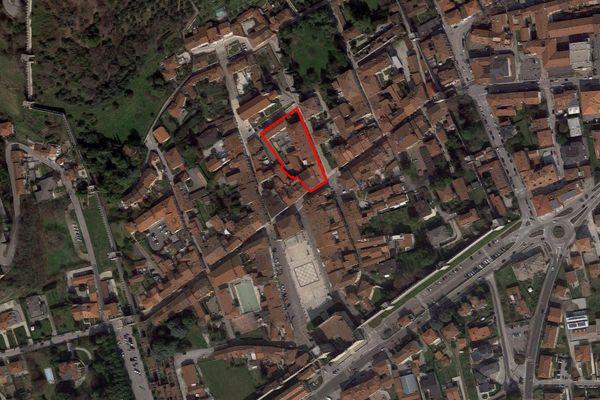 Immagine n1 - Planimetria - Vista aerea - Asta 5112