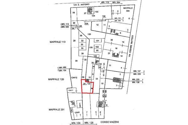 Immagine n1 - Planimetria - Localizzazione Piano terra - Asta 5112