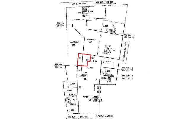 Immagine n1 - Planimetria - Localizzazione Piano primo - Asta 5115