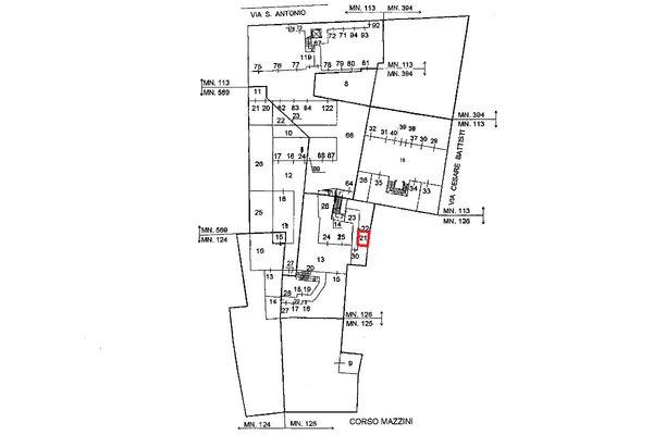 Immagine n0 - Planimetria - Localizzazione PS1 - Asta 5115