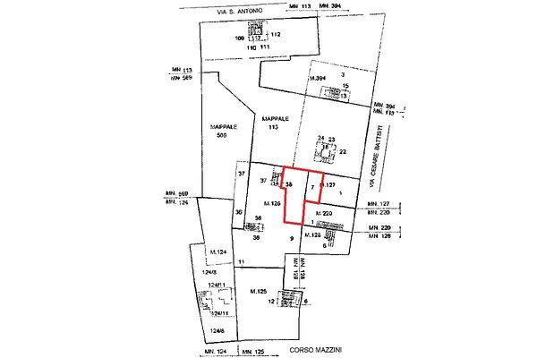 Immagine n1 - Planimetria - Localizzazione Piano terra - Asta 5116