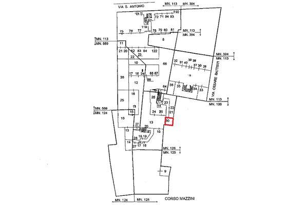 Immagine n0 - Planimetria - Localizzazione PS1 - Asta 5116