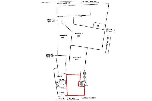 Immagine n0 - Planimetria - Localizzazione Piano terzo - Asta 5119