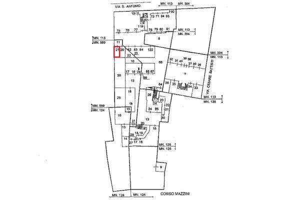 Immagine n0 - Planimetria - Localizzazione PS1 - Asta 5139