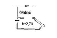 Immagine n2 - Cantina (sub 14) al piano interrato di condominio - Asta 5151