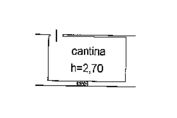Immagine n0 - Planimetria - Piano interrato - Asta 5152