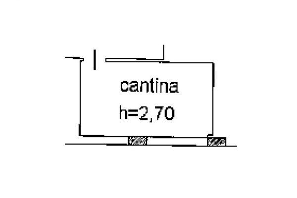 Immagine n0 - Planimetria - Piano interrato - Asta 5153