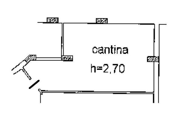 Immagine n0 - Planimetria - Piano interrato - Asta 5155