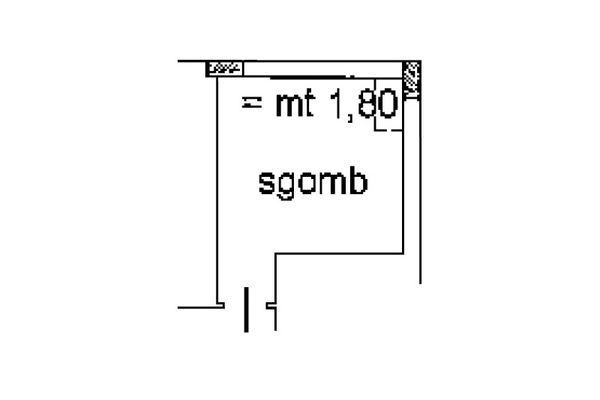 Immagine n0 - Planimetria - Piano sottotetto - Asta 5156