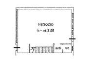 Immagine n3 - Negozio piano terra e deposito interrato (sub 2) - Asta 5157