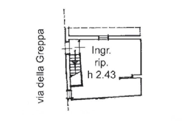 Immagine n1 - Planimetria - Piano terra - Asta 5163