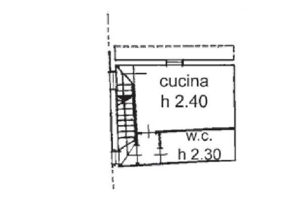 Immagine n2 - Planimetria - Piano primo - Asta 5163