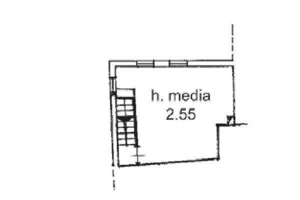 Immagine n3 - Planimetria - Piano secondo - Asta 5163