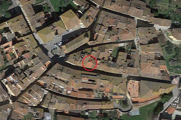 Immagine n0 - Planimetria - Vista aerea - Asta 5170