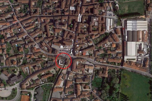 Immagine n0 - Planimetria - Vista aerea - Asta 5174