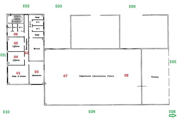 Immagine n1 - Planimetry - Ground floor - Asta 5280