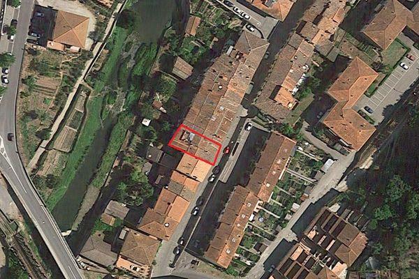Immagine n0 - Planimetria - Vista aerea - Asta 5304