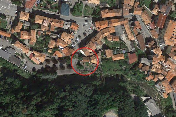 Immagine n0 - Planimetria - Vista aerea - Asta 5373