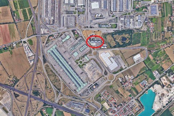 Immagine n0 - Planimetria - Vista aerea - Asta 5444