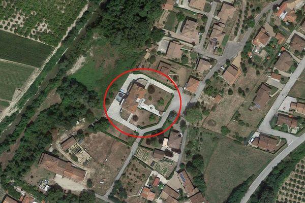 Immagine n0 - Planimetria - Vista aerea - Asta 5566