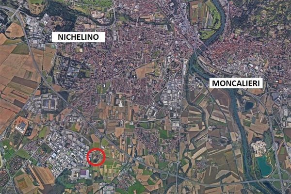 Immagine n2 - Planimetria - Vista aerea - Asta 5590