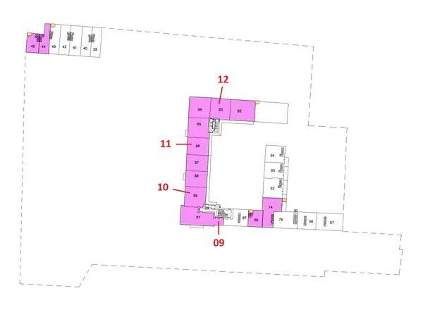 Immagine n2 - Planimetria - Piano primo - Asta 5590