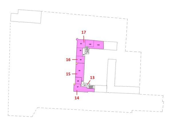 Immagine n3 - Planimetria - Piano secondo - Asta 5590