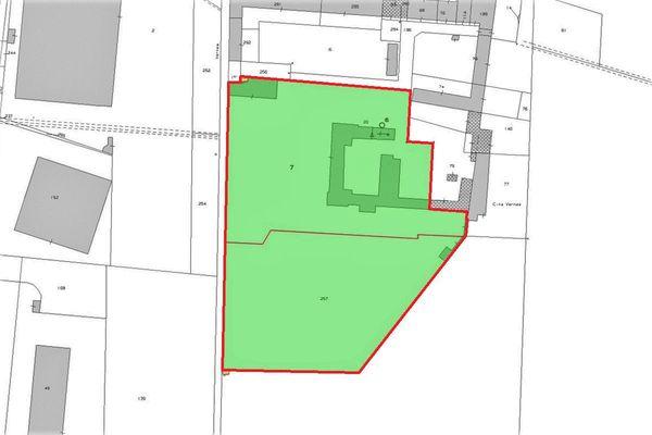 Immagine n4 - Planimetria - Estratto di mappa - Asta 5590